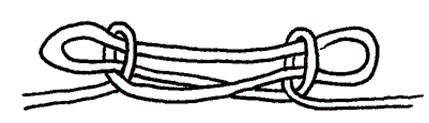 La Grande Application De Ce Noeud Cest Le Pont Singe A Un Bout Corde Tendue On Fait Chaise Et Lautre