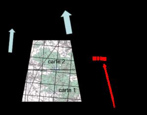 voici comment les trois Nord apparaissent sur la carte