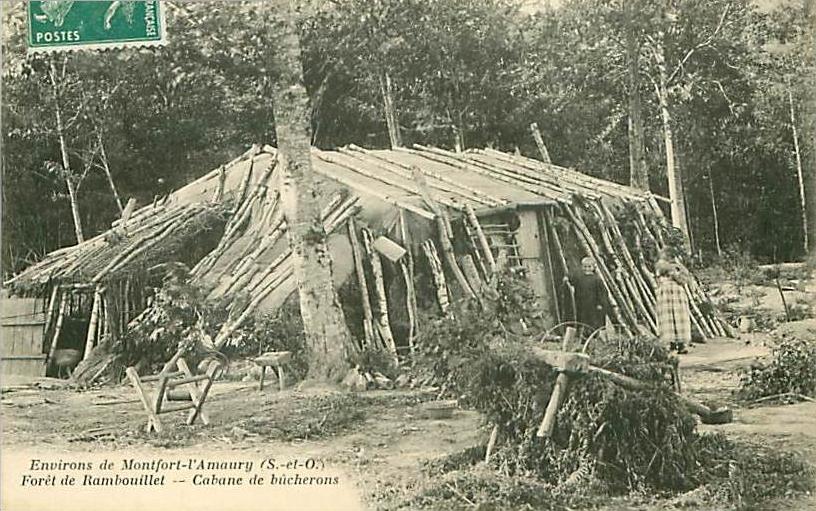 cabane bucheron