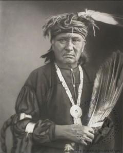 vieux guerrier Meskwaki